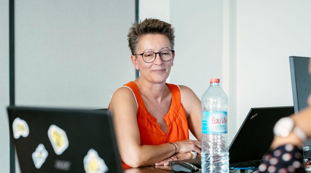 Claire GIRARD, Directrice centre de formation Acte 1 formation