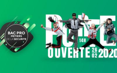 """Journée Porte Ouverte des Métiers de la Sécurité """"Spéciale Bac Pro en Alternance"""""""