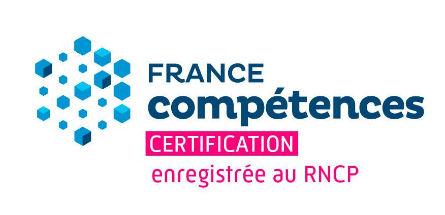 logo france compétence certification enregistrée au RNCP