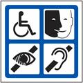 Pictogramme accessibilité pour la formation SSIAP 1 chez acte 1