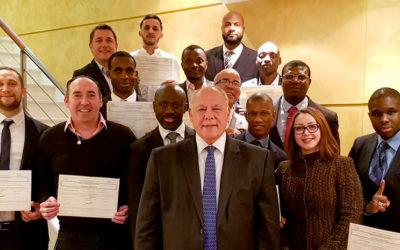 ACTE 1 Formation a réalisé la 70ème session du Titre de Dirigeant d'Entreprise de Sécurité Privée